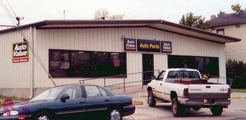 Auto Value Parts Stores storefront. Your local The Merrill Co. in Fairbury, NE.
