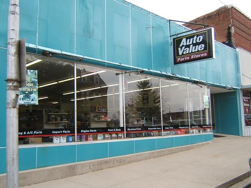 Auto Value Albany storefront. Your local Merrill Company in Albany, MO.