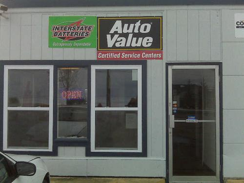 Wilson's Automotive storefront. Your local Auto-Wares, Inc in Houghton Lake, MI.