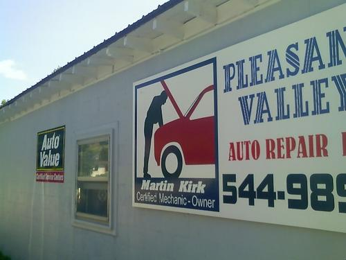 Pleasant Valley Auto Repair storefront. Your local Auto-Wares, Inc in Central Lake, MI.