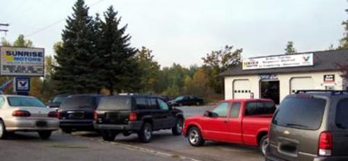 Sunrise Motors storefront. Your local Auto-Wares, Inc in Standish, MI.