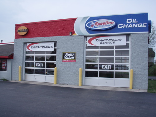 Midas Muffler & Brake storefront. Your local Auto-Wares, Inc in Kalkaska, MI.