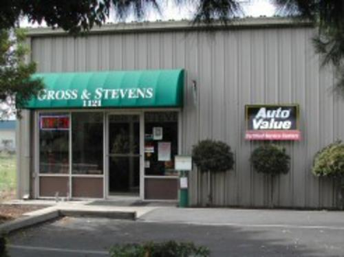 Gross & Stevens storefront. Your local Smith Auto Parts in Visalia, CA.