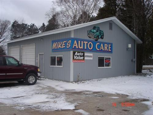 Mike's Auto Care storefront. Your local Auto-Wares, Inc in Atwood, MI.
