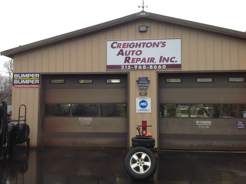 Creighton Auto Repair Inc storefront - Your local Auto Parts store in Newtown, PENNSYLVANIA (PA)
