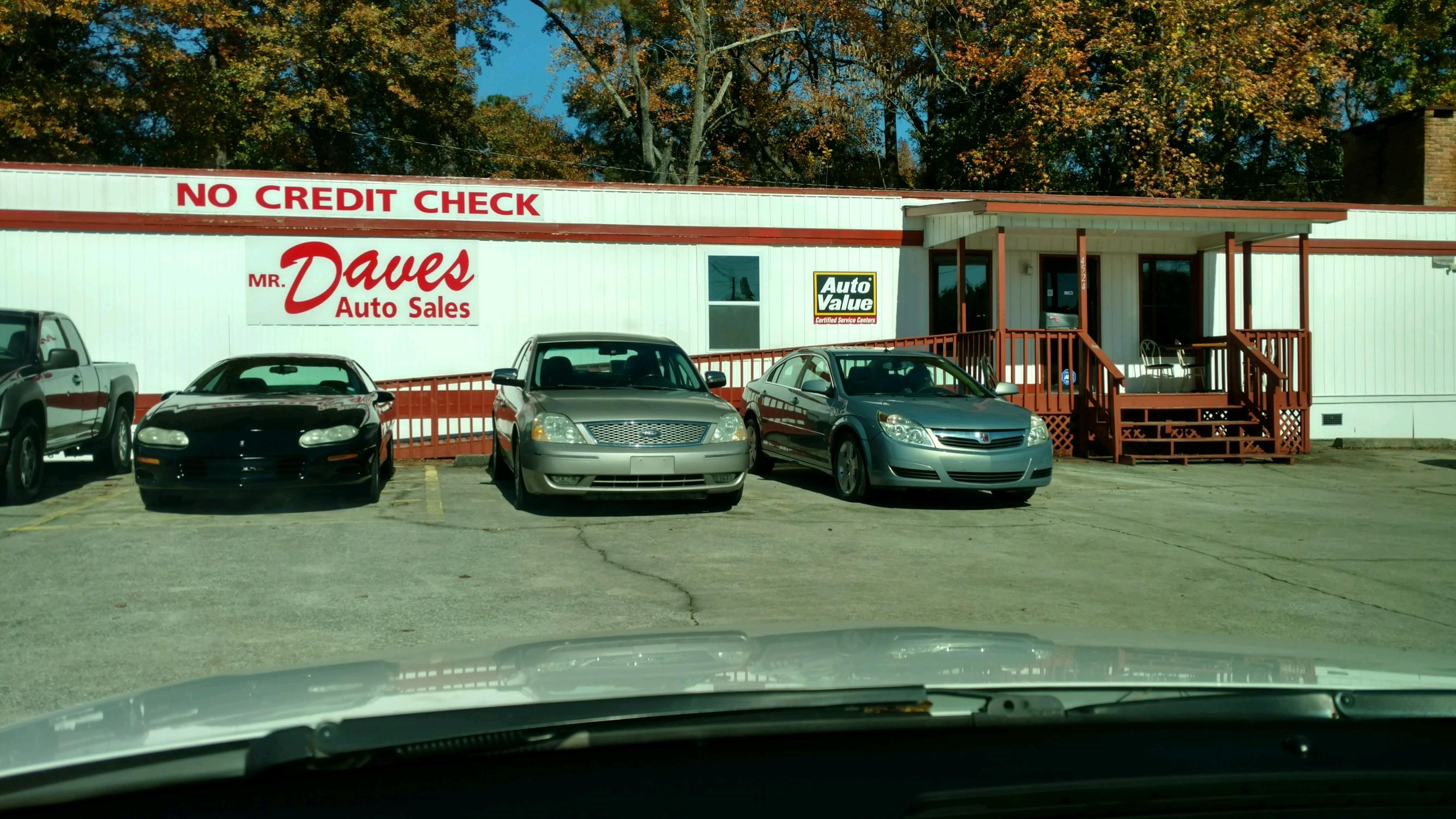 Mr. Dave's Auto Sales