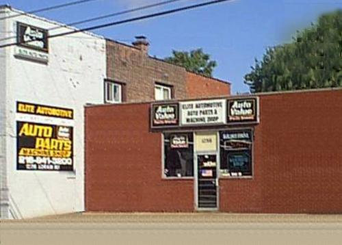 Elite Auto Parts storefront. Your local Hahn Automotive Warehouse in Cleveland, OH.