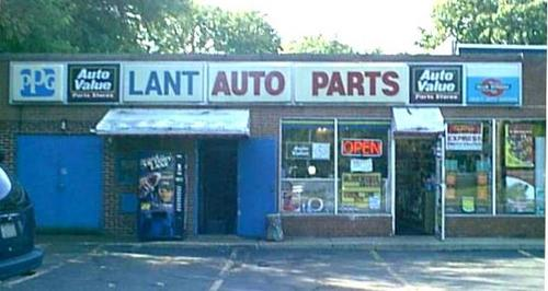 Lant Auto Parts storefront. Your local Hahn Automotive Warehouse in Ashtabula, OH.