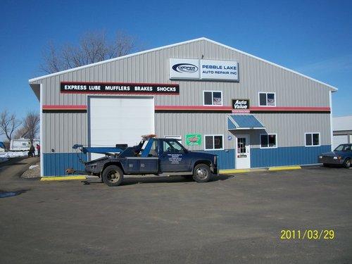 Pebble Lake Auto Repair storefront. Your local AutoParts HeadQuarters, Inc in Fergus Falls, MN.