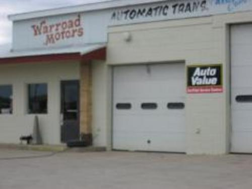 Warroad Motor Co. storefront. Your local AutoParts HeadQuarters, Inc in Warroad, MN.