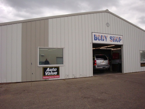 Alexandria Motors storefront. Your local AutoParts HeadQuarters, Inc in Alexandria, MN.