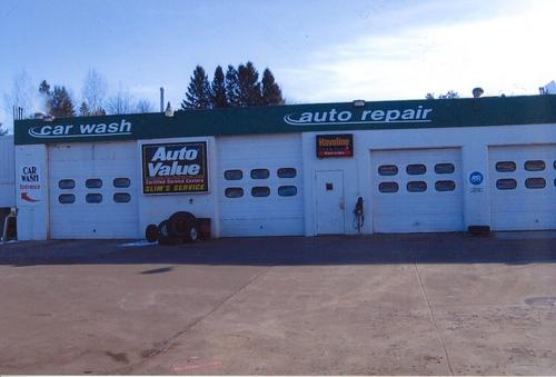 Roubinek Motors storefront. Your local AutoParts HeadQuarters, Inc in Pine City, MN.