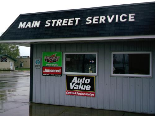 Main Street Service storefront. Your local AutoParts HeadQuarters, Inc in Gonvick, MN.