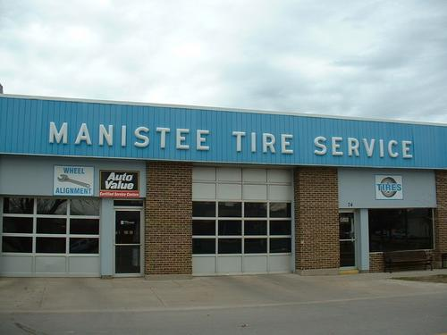 Manistee Tire storefront. Your local Auto-Wares, Inc in Manistee, MI.