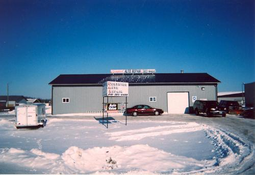 Certified Auto Repair storefront. Your local AutoParts HeadQuarters, Inc in New York Mills, MN.