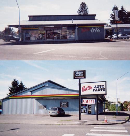 Baxter Auto Parts #10 storefront. Your local Performance Warehouse in Centralia, WA.