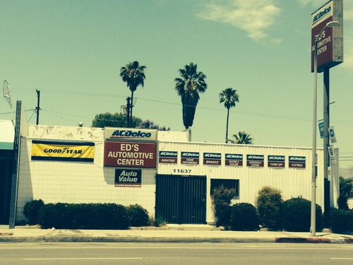 Ed's Automotive Center storefront. Your local Warren Distributing, Inc in North Hollywood, CA.