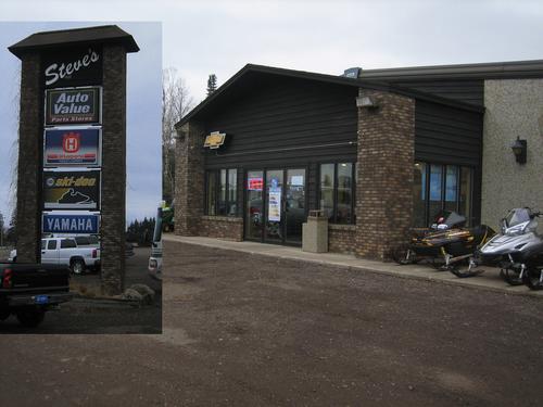 Grand Marais Motors storefront. Your local AutoParts HeadQuarters, Inc in Grand Marais, MN.