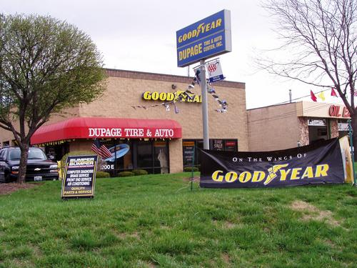 Dupage Tire & Auto storefront - Your local Auto Parts store in Lombard, ILLINOIS (IL)