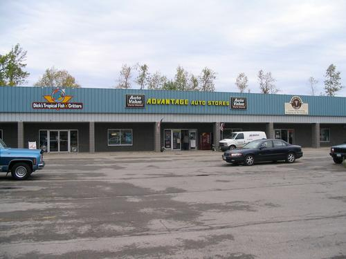 Advantage Auto Stores storefront. Your local Hahn Automotive Warehouse in Ontario, NY.