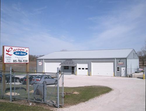 Larson Auto Repair storefront - Your local Auto Parts store in Sandwich, ILLINOIS (IL)