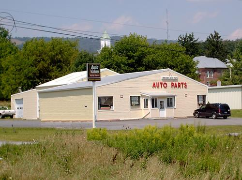 Monterey Auto Parts storefront. Your local Hahn Automotive Warehouse in Monterey, VA.
