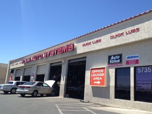 R & R Auto System storefront. Your local Warren Distributing, Inc in Las Vegas, NV.
