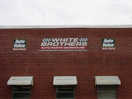 Greenville storefront. Your local White Brothers Warehouse, Inc. in Greenville, SC.