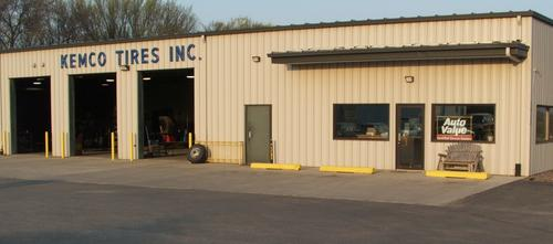 Kemco Tire storefront. Your local The Merrill Co. in Algona, IA.