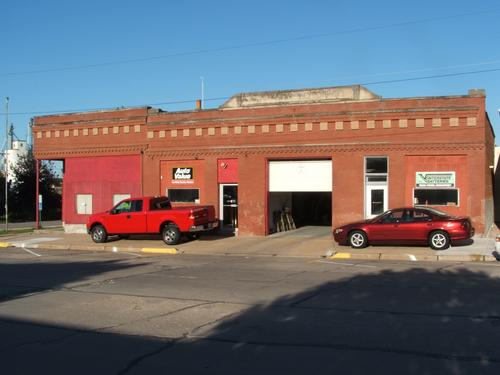 Clarkson Motors storefront. Your local The Merrill Co. in Clarkson, NE.