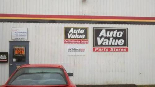 Rick's Automotive Technology storefront. Your local Auto-Wares, Inc in Lowell, MI.
