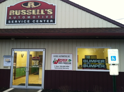 Russells Automotive storefront - Your local Auto Parts store in Bridgeton, NEW JERSEY (NJ)