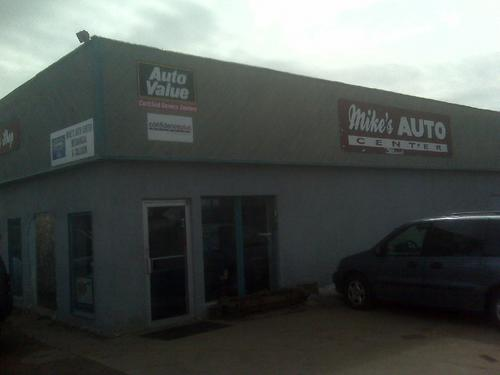 Mike's Auto Center storefront. Your local Auto-Wares, Inc in Gwinn, MI.