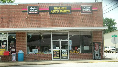 Hughes Auto Parts storefront. Your local Tri-States Automotive Warehouse, Inc in Notasulga, AL.