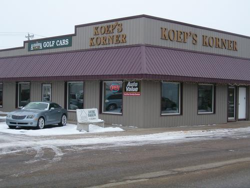 Koep's Korner storefront. Your local AutoParts HeadQuarters, Inc in Alexandria, MN.