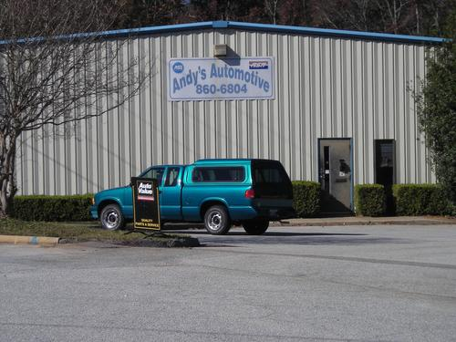 ANDYS AUTOMOTIVE storefront. Your local White Brothers Warehouse, Inc. in Evans, GA.