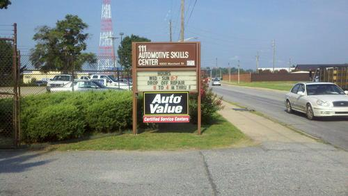 AUTO SKILLS CENTER storefront. Your local White Brothers Warehouse, Inc. in Ft Benning, GA.