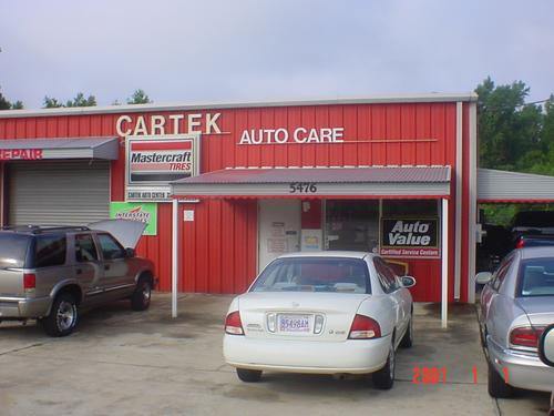 CARTEK AUTO CARE storefront. Your local White Brothers Warehouse, Inc. in Smiths, AL.