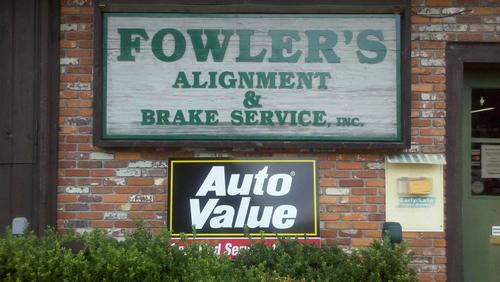 FOWLER'S ALIGNMENT & BRAKE