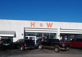 H & W TIRE SERVICE INC